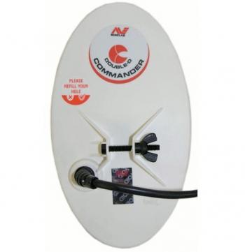 "Катушка эллиптическая DoubleD 10"" Minelab H 18.75 кГц. Вес - 410 гр."